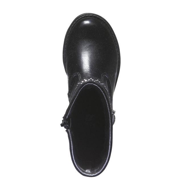 Kozaki ze zdobieniem mini-b, czarny, 291-6126 - 19