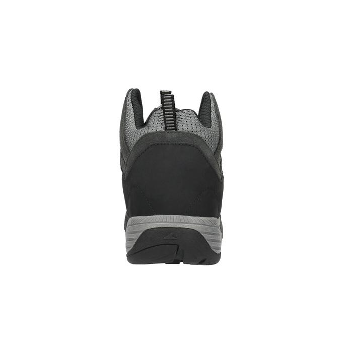 Skórzane botki w stylu Outdoor power, czarny, 803-6112 - 17