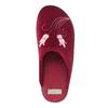 Kapcie damskie zhaftem bata, czerwony, 579-5603 - 19