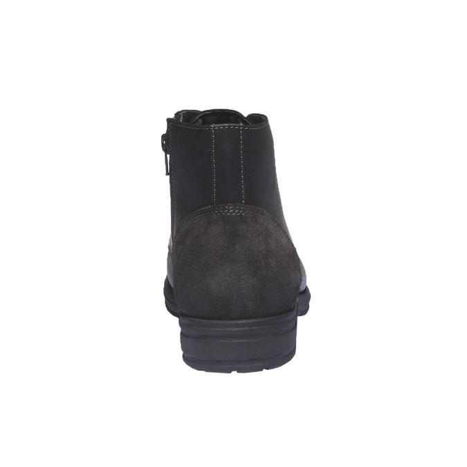 Skórzane buty na co dzień bata, czarny, 894-6555 - 17
