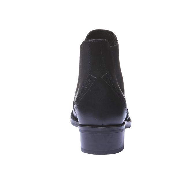 Botki o kroju Chelsea bata, czarny, 594-6532 - 17