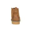 Botki damskie zkolorową wyściółką bata, brązowy, 599-4605 - 17