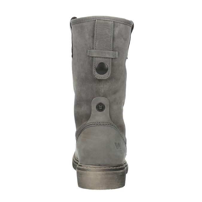 Zimowe skórzane buty damskie weinbrenner, 596-0100 - 17