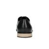 Skórzane półbuty męskie zpodeszwą w nieformalnym stylu bata, czarny, 824-6728 - 17