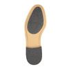 Skórzane półbuty męskie zpodeszwą w nieformalnym stylu bata, czarny, 824-6728 - 26