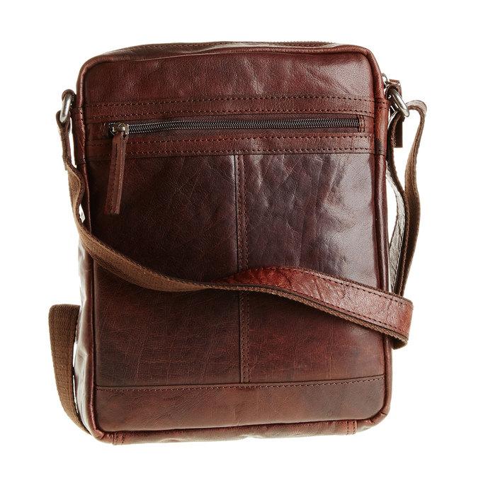 Męska skórzana torba Crossbody bata, brązowy, 964-4180 - 26