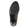Kozaki damskie na obcasie bata, beżowy, 799-2602 - 26