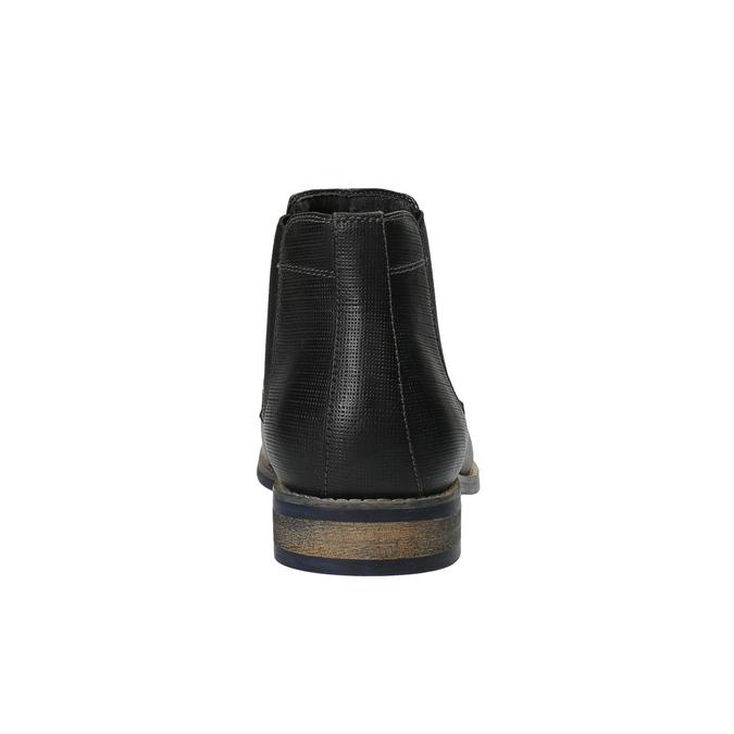 Czarne Chelsea Boots męskie bata, czarny, 891-6601 - 17