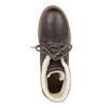 Zimowe skórzane buty damskie weinbrenner, brązowy, 594-4491 - 19