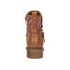 Botki w stylu etno bata, brązowy, 599-4604 - 17