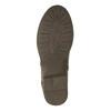 Damskie botki z zamkami bata, brązowy, 591-3612 - 26
