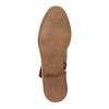 Botki w stylu etno bata, brązowy, 599-4604 - 26