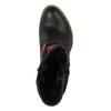 Ocieplane botki w stylu kowbojskim bata, czarny, 699-6603 - 19