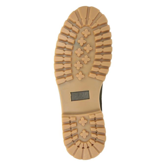 Skórzane buty z antypoślizgową podeszwą weinbrenner, szary, 594-2455 - 17