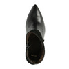 Skórzane botki wszpic bata, czarny, 794-6641 - 19