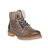 Zimowe skórzane buty damskie weinbrenner, brązowy, 594-8491 - 13