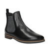 Damskie skórzane buty Chelsea Boots bata, czarny, 596-6607 - 13