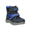 Dziecięce buty zimowe bubblegummer, niebieski, 199-9601 - 13