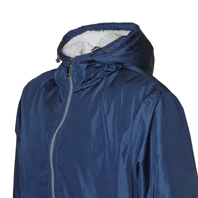 Męska kurtka z kapturem bata, niebieski, 979-9617 - 16