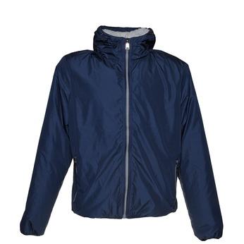 Męska kurtka z kapturem bata, niebieski, 979-9617 - 13