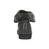 Skórzane trampki za kostkę zfuterkiem bata, szary, 593-2601 - 17