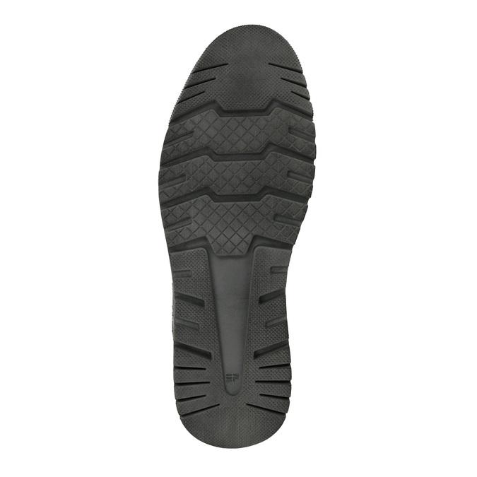 Męskie buty sportowe w codziennym stylu weinbrenner, czarny, 843-6620 - 26