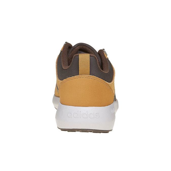 Męskie skórzane buty sportowe adidas, brązowy, 803-3893 - 17