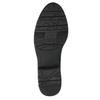 Skórzane czarne kozaki o tęgości H bata, czarny, 596-6611 - 26