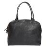 Skórzana torba ze sztywnymi uchwytami vagabond, czarny, 964-6002 - 26