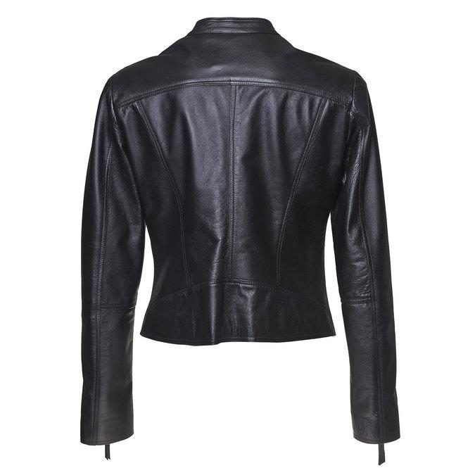 Skórzana kurtka damska bata, czarny, 974-6145 - 26