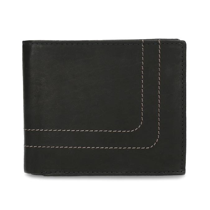 Męski skórzany portfel bata, brązowy, 944-6147 - 26