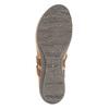 Damskie skórzane sandały weinbrenner, brązowy, 566-4101 - 26