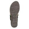 Damskie skórzane sandały weinbrenner, czarny, 566-6101 - 26