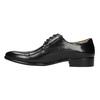 Męskie półbuty ze skóry, ze zdobieniami bata, czarny, 824-6640 - 26