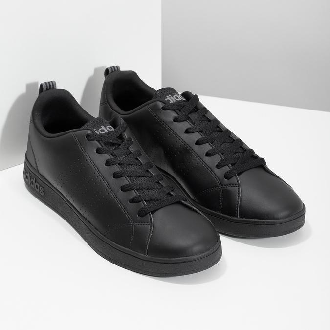 Czarne trampki męskie adidas, czarny, 801-6144 - 26