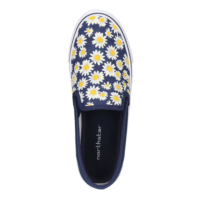 Dziecięce buty typu Slip-On mini-b, niebieski, 329-9189 - 19