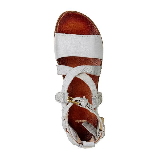 Damskie skórzane sandały bata, 566-1103 - 19