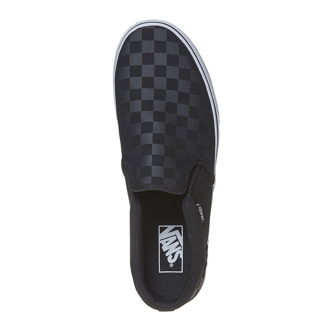 Męskie buty Slip on vans, czarny, 889-6309 - 19