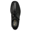 Skórzane męskie półbuty pinosos, czarny, 824-6770 - 19