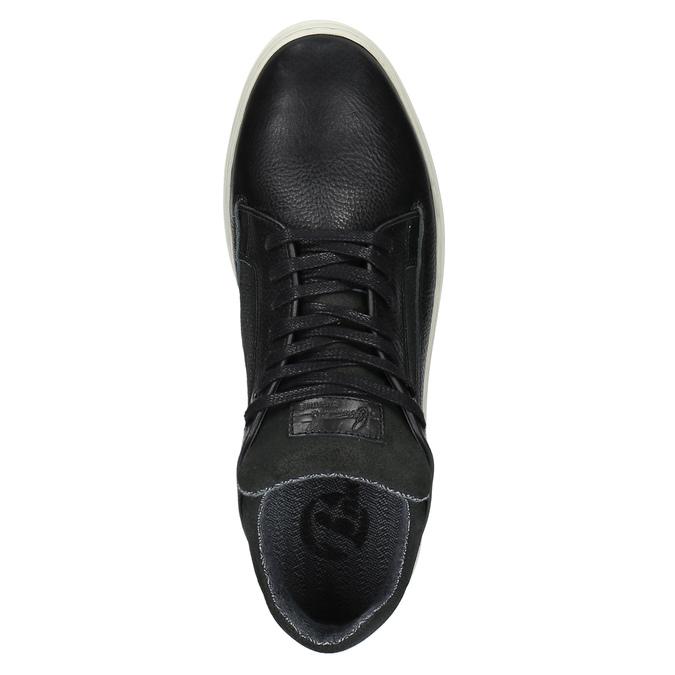 Nieformalne trampki męskie bata, czarny, 844-6624 - 19