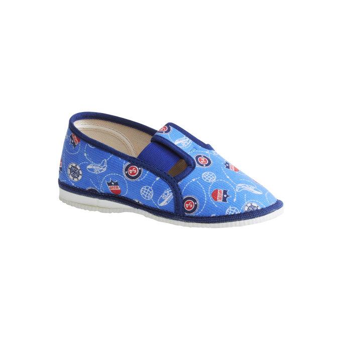 Pantofle dziecięce bata, niebieski, 179-0105 - 13