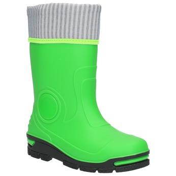 Zielone kalosze dziecięce mini-b, zielony, 292-7200 - 13