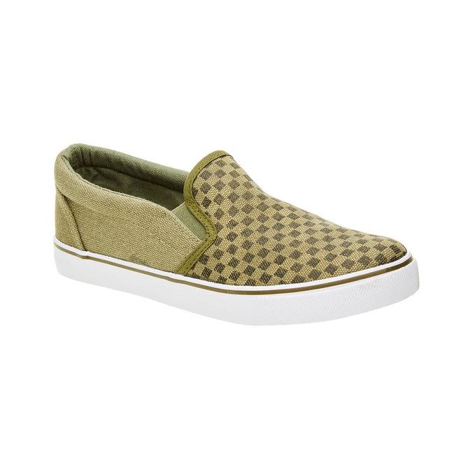 Dziecięce buty typu Slip-On mini-b, zielony, 319-7215 - 13