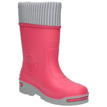 Dziecięce różowe kalosze mini-b, różowy, 292-5200 - 13