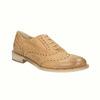 Skórzane buty Oxford ze zdobieniem typu Brogue bata, brązowy, 524-3482 - 13
