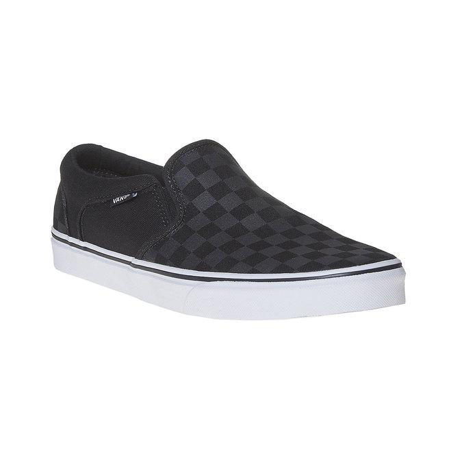 Męskie buty Slip on vans, czarny, 889-6309 - 13