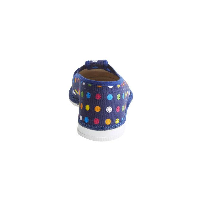 Dziecięce pantofle bata, niebieski, 379-5012 - 17