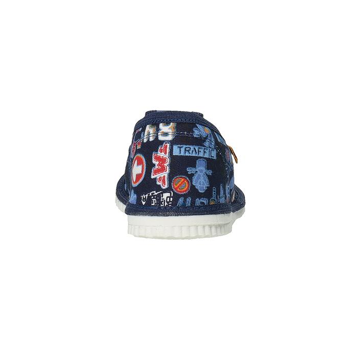 Domowe buty dziecięce bata, niebieski, 279-9104 - 17