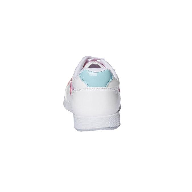 Dziewczęce buty sportowe mini-b, biały, 329-1175 - 17