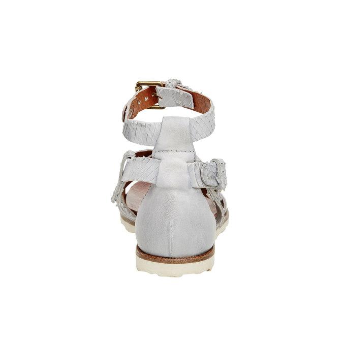 Damskie skórzane sandały bata, 566-1103 - 17